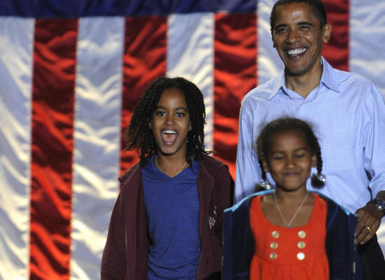 MALIA OBAMA A BLACK BEAUTY IN HER OWN RIGHT PROUDLY WEARS