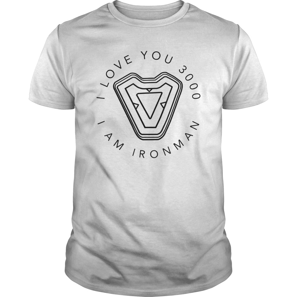 Avengers Endgame Iron Man I Love You Quote Circle