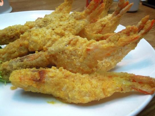 浙江鹹蛋黃金蝦