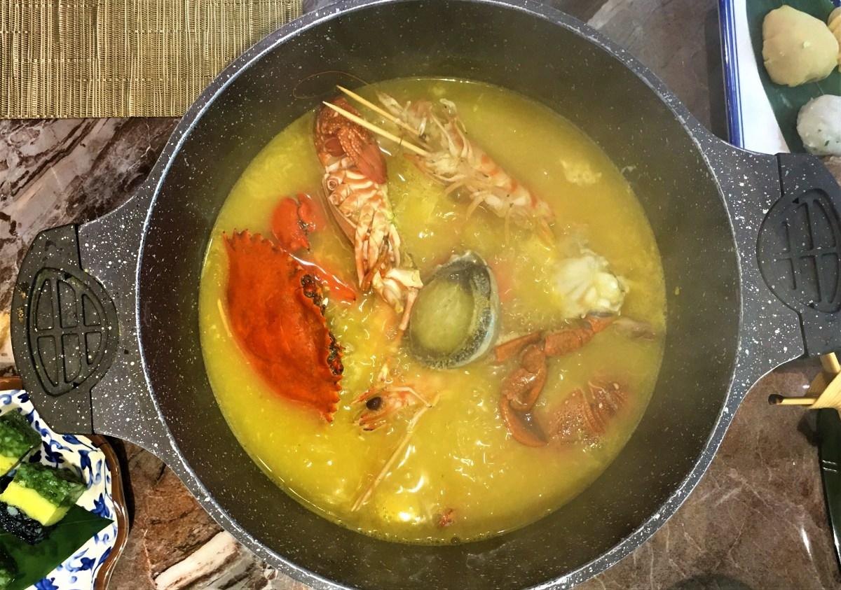 【旺角火鍋】鮑魚、肉蟹、龍蝦海鮮粥底火鍋 - 阿爺粥膳八鮮鍋!