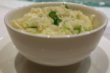 蛋白菜粒炒飯