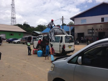 3. Boven Suriname - heenreis 2