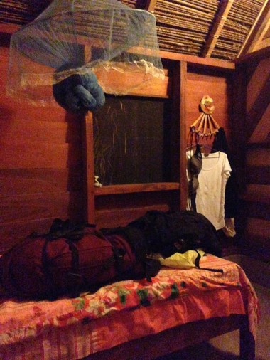 3. Boven Suriname - lodge slaapplaats Botopassie 2