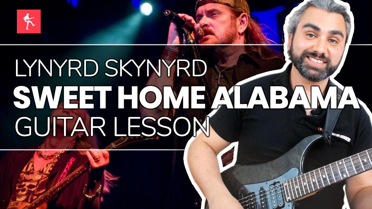 Sweet home alabama lynyrd skynyrd piano tutorial easy chords. Sweet Home Alabama Guitar Lesson How To Play Sweet Home Alabama By Lynyrd Skynyrd