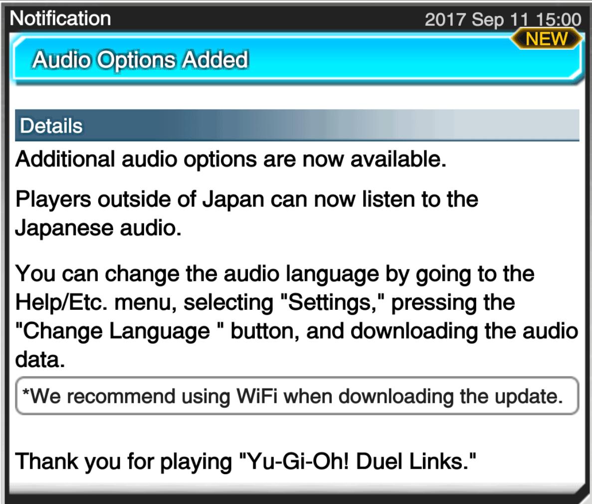 The Organization | [Duel Links] Japanese Audio