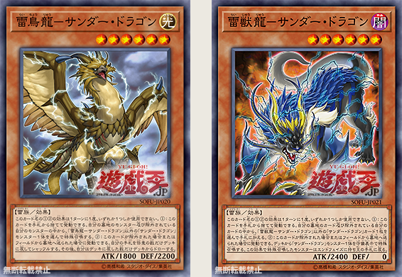 The Organization | [SOFU] Thunder Dragon Theme Cards