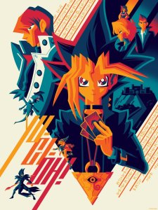 Prints from Gallery1988's Yu-Gi-Oh! Art Show G1988_yu-gi-oh_REG_composite_1024x1024