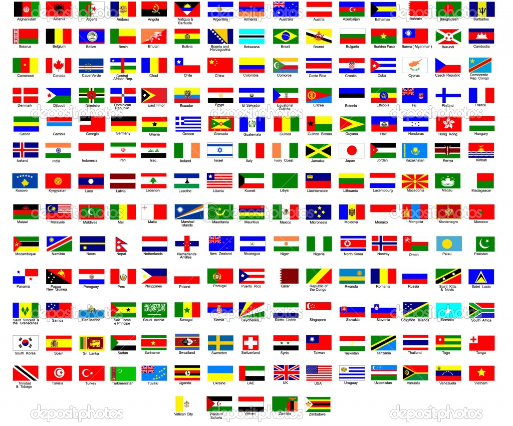 Flags of Different Countries - Flags of the World - World ...