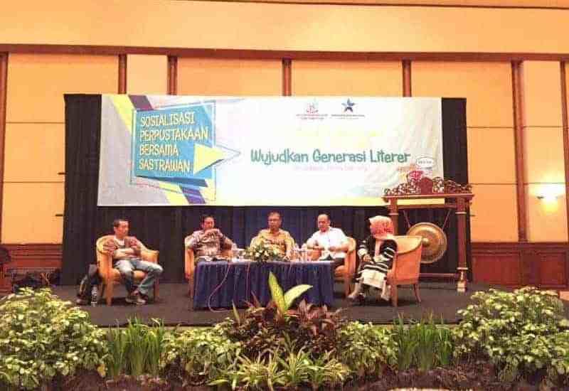 Para Pembicara Kegiatan Sosialisasi Bersama Sastrawani