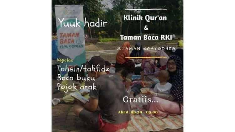 Belajar Membaca Al Qur'an bersama Rumah Keluarga Indonesia