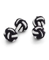 Knot Cuff Links, $9.00