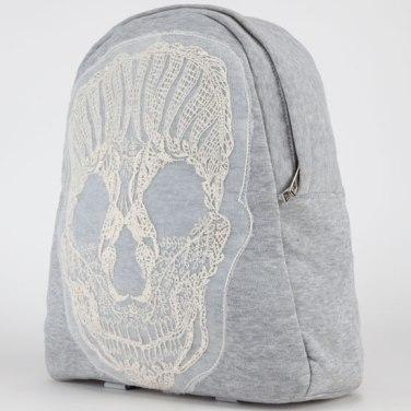 Embroidered Skull Backpack, $19.99