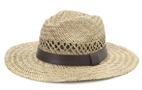 $24.95, With Love From CA Fedora Straw Hat, Pacsun
