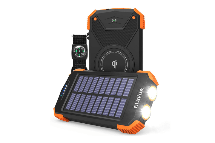 BLAVOR, Solar Power Bank Charger - Eco-Friendly Gift Ideas