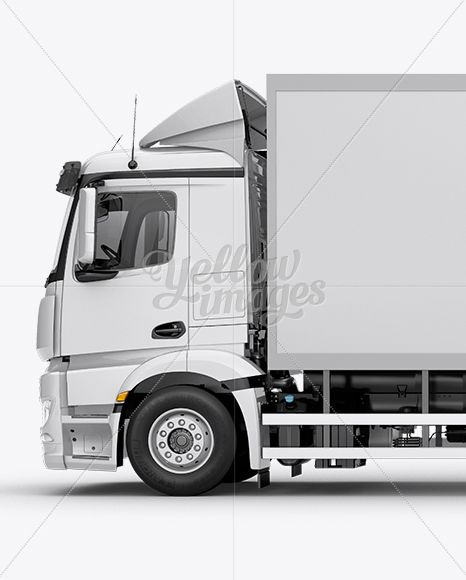 Download Truck Mockup Psd Free Download Yellow Images