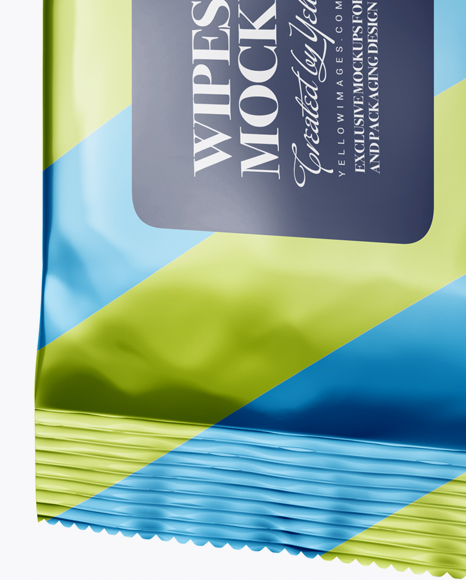 Download Wet Wipes Packaging Mockup Yellowimages