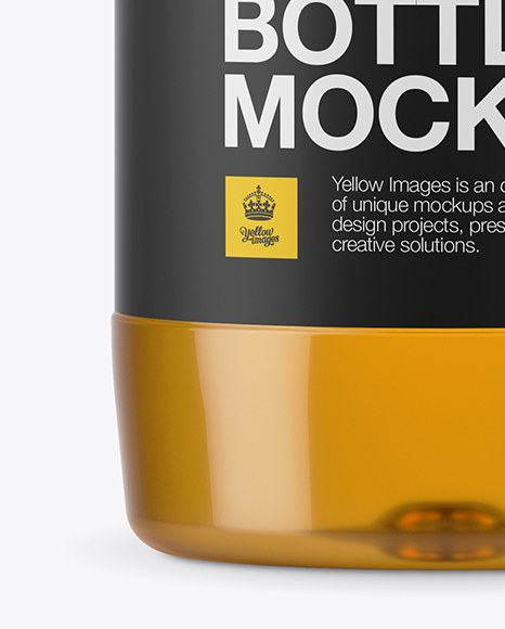 Download Square Cherry Juice Bottle Psd Mockup Yellowimages
