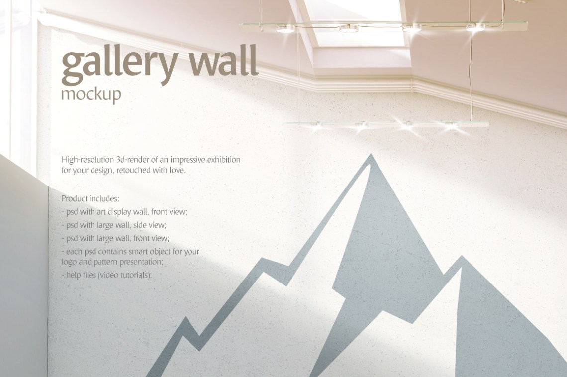 Download 3d Wall Mockup Free Yellowimages