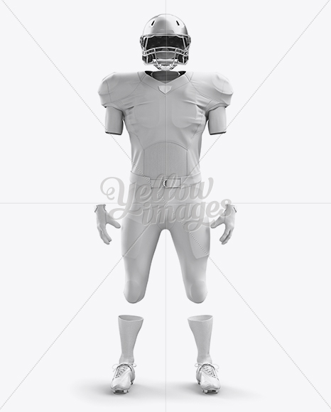 Download American Football Helmet Mockup Top Back Halfside View Yellowimages