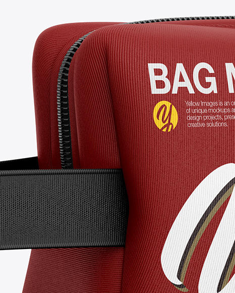 Download Bag Mockup Back View Yellowimages