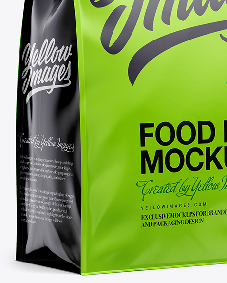 Download Food Wrap Mockup Yellowimages