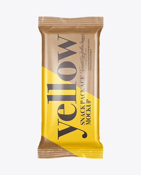 Download Kraft Flow Pack Psd Mockup Yellowimages