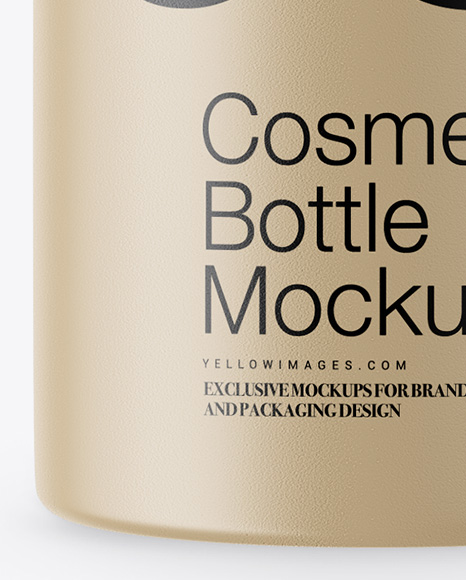 Download Cosmetic Packaging Cosmetic Bottle Mockup Yellowimages