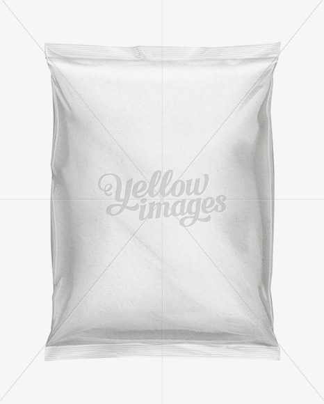 Showcase your designs in these blank mockups. Plastic Bag With Flour Mockup In Bag Sack Mockups On Yellow Images Object Mockups