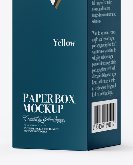 Download Box Design Mockup Yellowimages