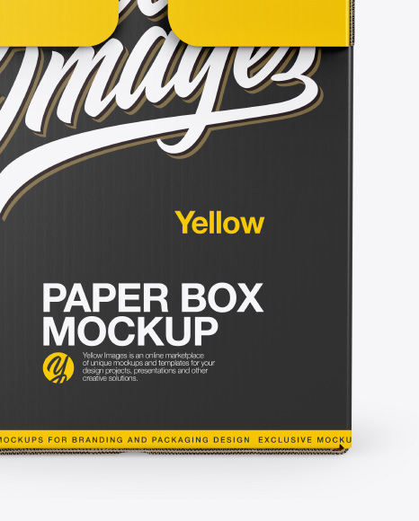 Download Glossy Parcel Psd Mockup Yellowimages
