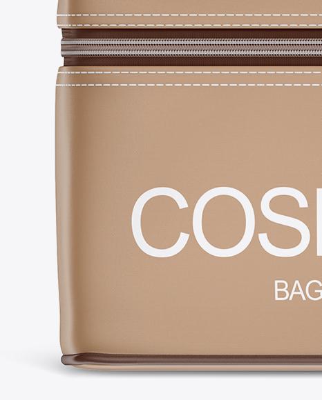 Download Metallic Cosmetic Bag Psd Mockup Yellowimages
