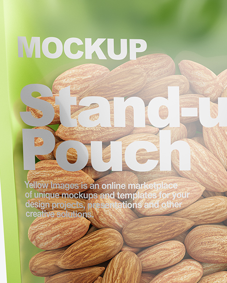 Download Nuts Packaging Mockup Yellowimages