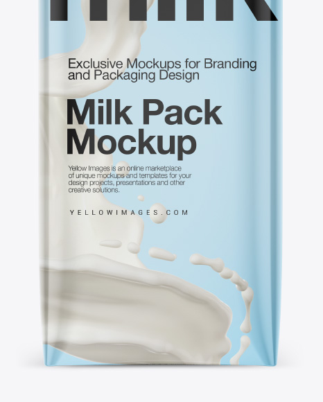 Download Milk Packaging Free Mockup Yellowimages