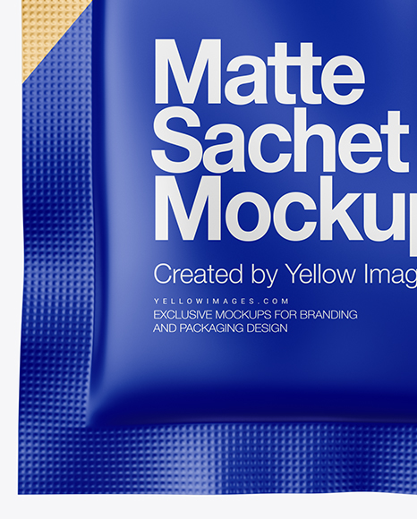 Download Ketchup Sachet Mockup Free Yellowimages