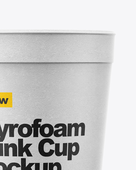 Download Reusable Cup Mockup Yellow Images