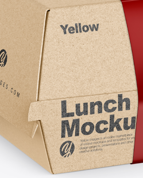 Download Lunch Box Mockup Free Yellow Images