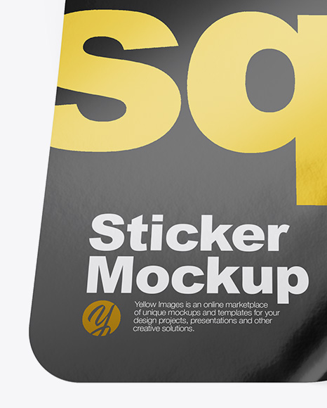 Download Square Sticker Mockup Psd Free Yellowimages