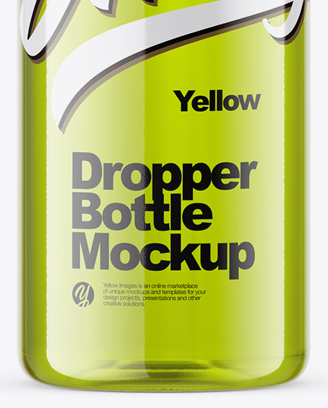 Download 10ml Amber Glass Dropper Bottle Mockup Yellowimages