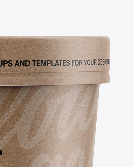 Download Kraft Paper Soup Cup Yellowimages
