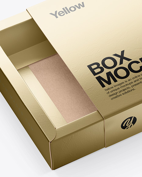 Download Metallic Boxes Psd Mockup Yellowimages