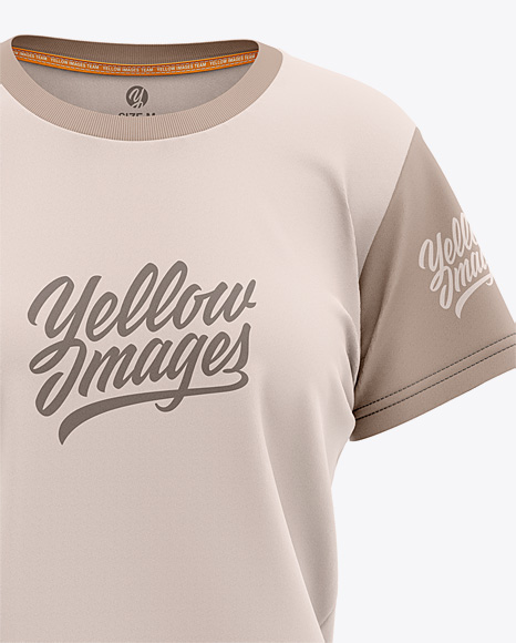 Download Free Womens T Shirt Mockup Psd Yellowimages
