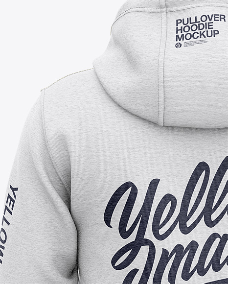 Download Basketball Heather Hoodie Mockup Side View Of Hooded Jacket Yellow Images