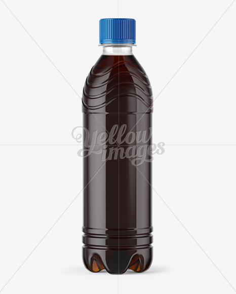 Download Bottle Cola Mockup Template Yellowimages
