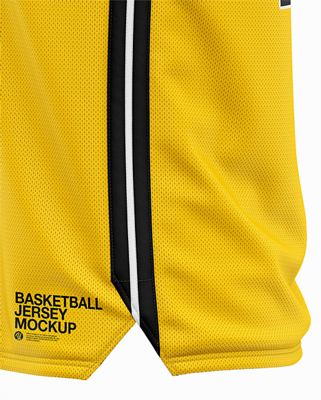 Download Basketball Jersey Mockup Front View Yellowimages