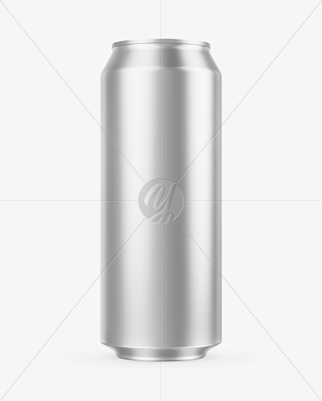 Download Matte Metallic Aluminium Can Psd Mockup Yellowimages