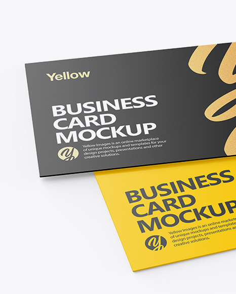 Download Business Card Psd Template Mockup Free Yellowimages