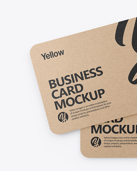 Download Business Card Mockup Template Free Download Yellowimages