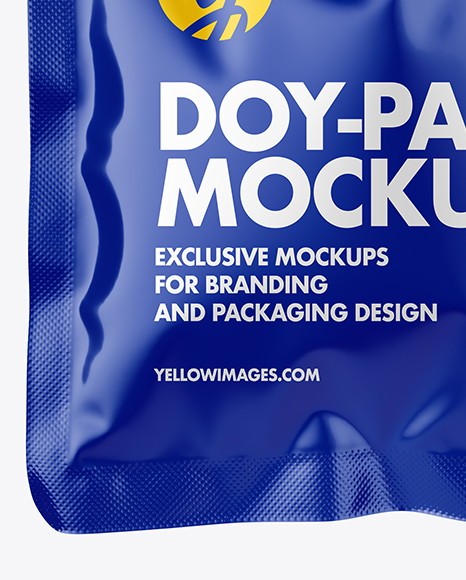 Download 30ml Kraft Doy Pack Psd Mockup Yellowimages