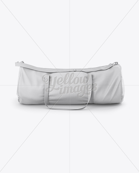 Shopping bag free mockup to showcase your packaging. Duffle Bag Mockup Front View In Apparel Mockups On Yellow Images Object Mockups