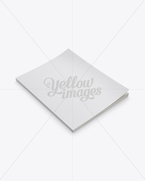 Download Mockup Magazine Cover Psd Yellow Images